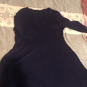 Navy blue sweater dress (22/24) lane Bryant